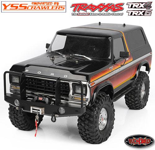 RC4WD TA ウィンチバンパー グリルガード for TRX-4 TRX-6!