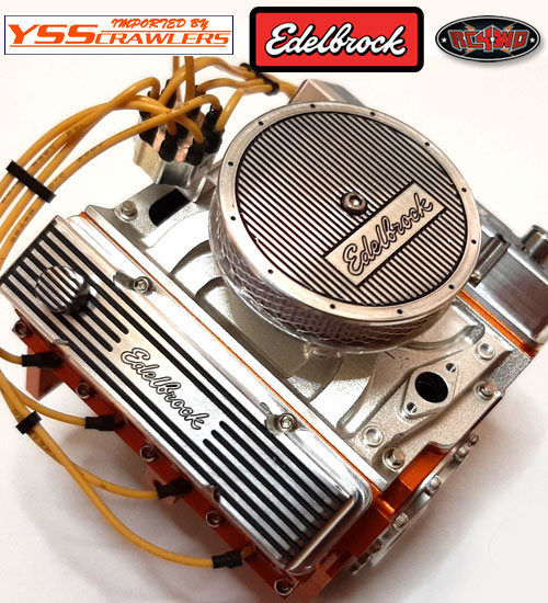 RC4WD 1/10 Edelbrock エンジンブロックキット!