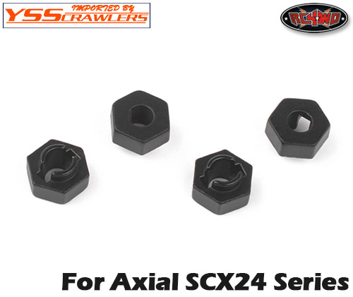 RC4WD 7mm ホイールハブ コンバージョン for Axial SCX24!