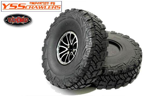RC4WD 2フェース 2.2 オフロード スケールタイヤ [ペア]