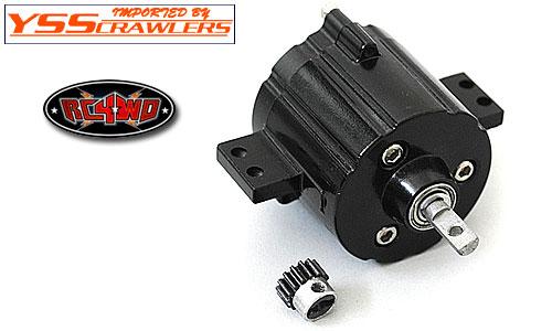 RC4WD ディスラピュター コンパクト プラネタリー トランスミッション![ブラック]