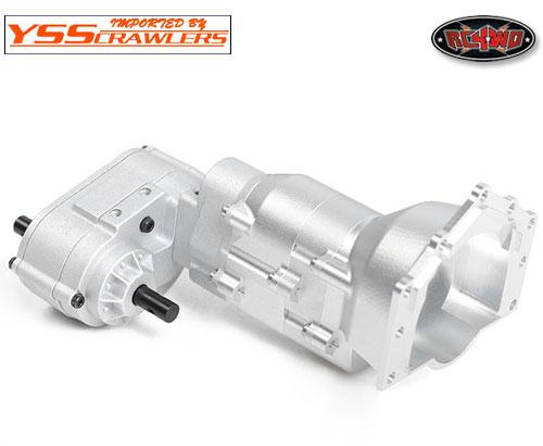 RC4WD 1/10 TCI HD R4シングルスピードトランスミッション!