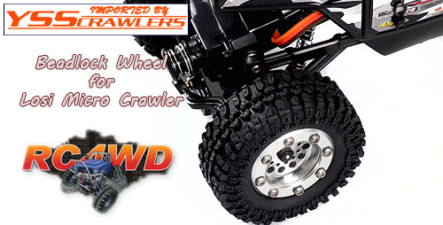 RC4WD ビードロックホイール for マイクロクローラー [1台分]