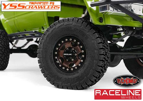 RC4WD レースライン コンバット 1.55インチ ビードロックホイール![4本]