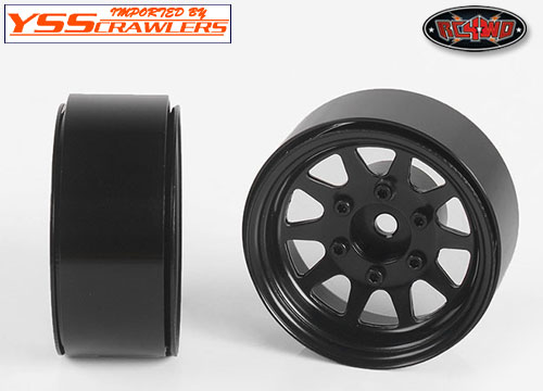 OEM 6-Lug Stamped Steel 1.55 Beadlock Wheels