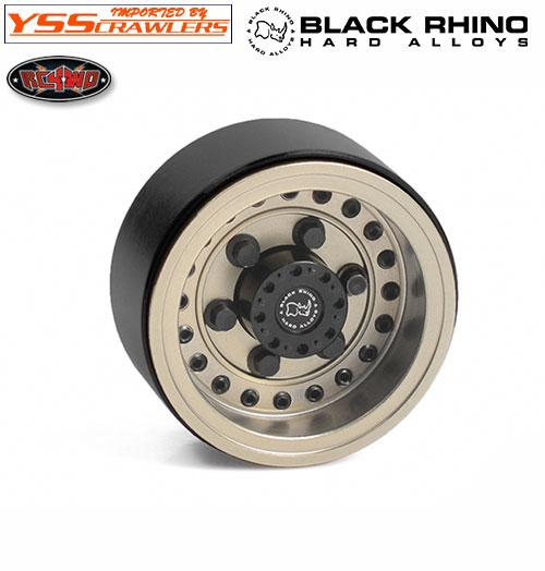 RC4WD 1インチ ブラックライノビードロックホイール for マイクロクローラー [1台分]
