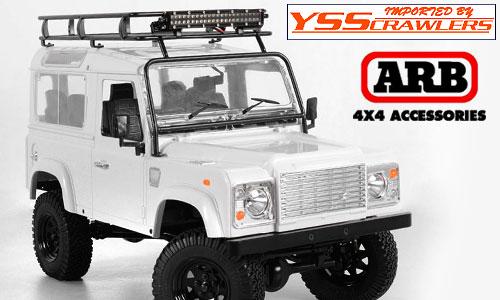 RC4WD ARB ルーフラック For D90ボディー![ウィンドーガード付]
