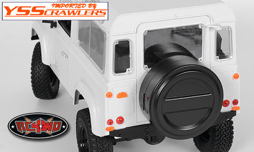 RC4WD Spare Tire Case For Defender Body