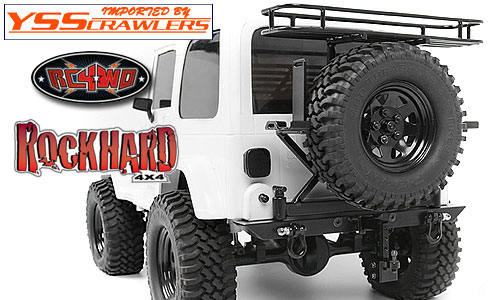 RC4WD Rock Hard 4x4 Rear Multi Carrier for TF2 SWB [ブラック]