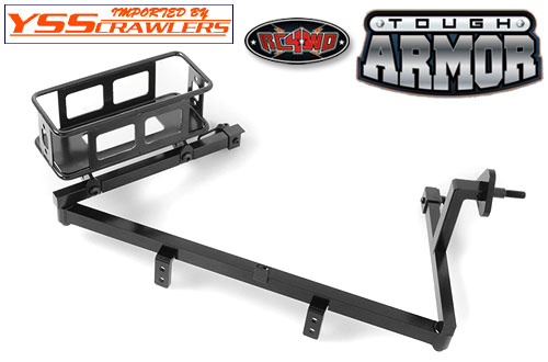 RC4WD Tough Armor Swing Away Tire Carrier w/Fuel holder for the G2 Cruiser
