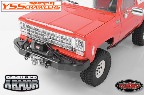 RC4WD タフアーマー ウィンチバンパー for Chevy Blazer!