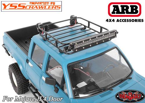 RC4WD ARB ルーフラック for ハイラックス 4D ボディー!