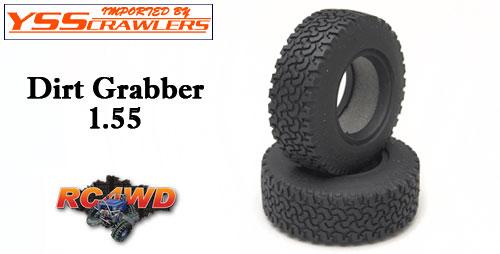 RC4WD ダートグラバー 1.55 スケールタイヤ [ペア]