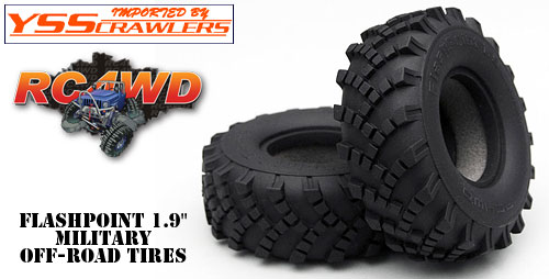 FlashPoint 1.9 Military Offroad Tires