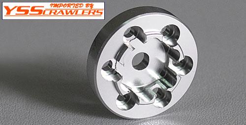 RC4WD 6 Lugs スチール ホイール用 ホイールヘックス [4個入][シルバー]