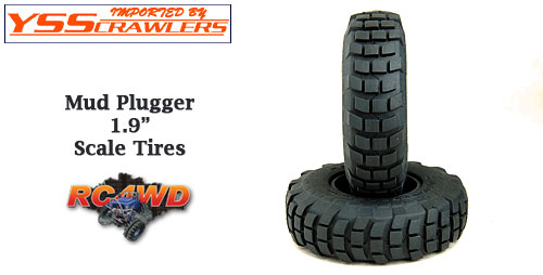 RC4WD Mud Plugger 1.9 Scale Tires