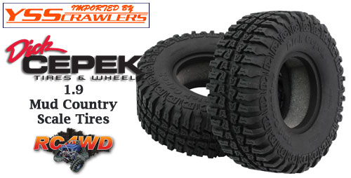RC4WD Dick Cepek Mud Country 1.9 Scale Tires