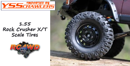 RC4WD Rock Crusher X/T 1.55 Scale Tires