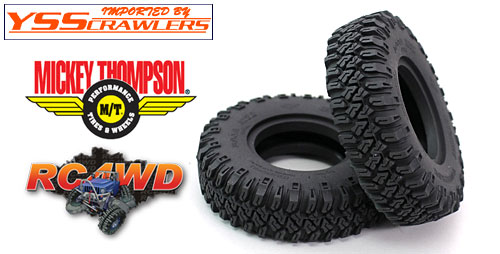 RC4WD Micky Thompson [Baja MTZ P3] 1.55 スケールタイヤ [2本]