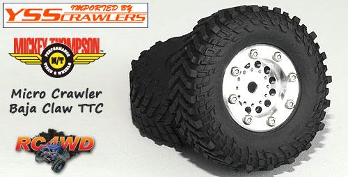 RC4WD ミッキートンプソン バハクロー TTC マイクロサイズ スケールタイヤ [2個]