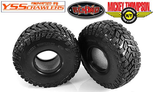RC4WD ミッキートンプソン バハクロー TTC ラジアル 2.2 スケール タイヤ [2個]