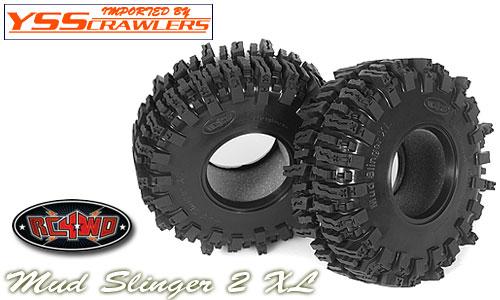 RC4WD マッドスリンガー2 XL 2.2 スケールタイヤ [ペア]