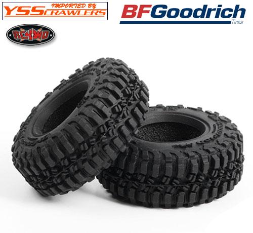 RC4WD BFグッドリッチ T/A KM3 1.0インチ スケールタイヤ [ペア]