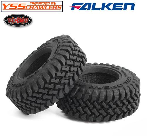 RC4WD ファルケン ワイルドピーク M/T 1.0インチ スケールタイヤ [ペア]