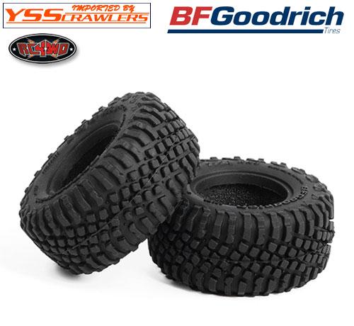 RC4WD BFグッドリッチ T/A KR3 1.0インチ スケールタイヤ [ペア]