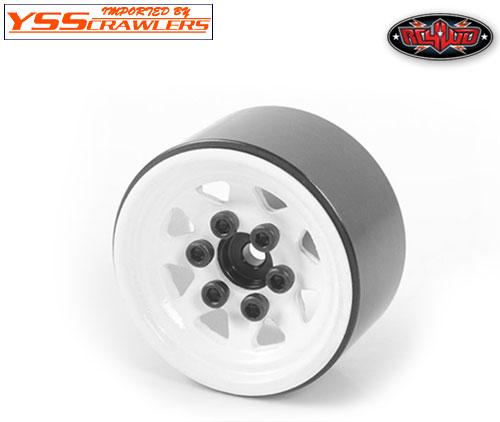 RC4WD スタンプド スチール 1インチ ビードロックホイール for スモールクローラー[ホワイト]