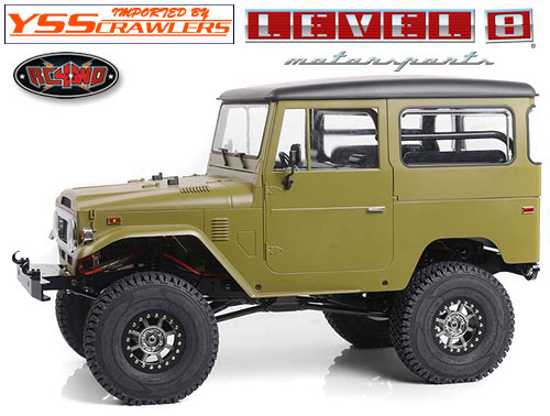 RC4WD Level 8 Bully Pro 6 1.9 Beadlock Wheels