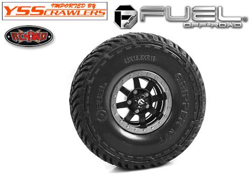 RC4WD FUEL オフロード マッドグリッパー 1.9 タイヤ!