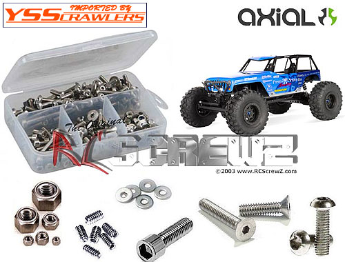 RC Screwz ステンレス六角ビスセット For Axial Wraith Posion Spyder!