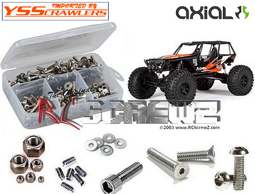 RC Screwz ステンレス六角ビスセット For Axial Wraith kit!