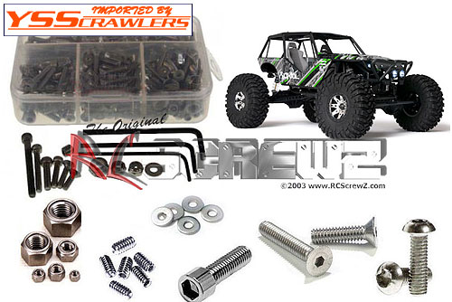RC Screwz ステンレス六角ビスセット For Axial Wraith RTR!