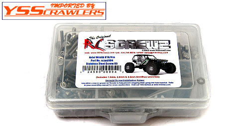 Axial Racing Wraith RTR Stainless Steel Screw