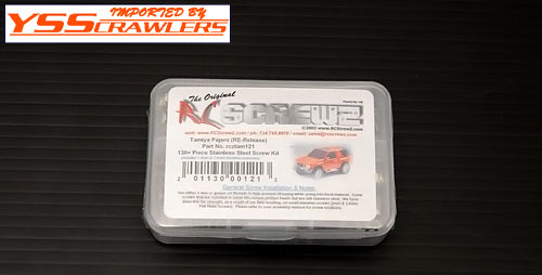 Tamiya Pajero (Re-Rellease) Stainless Steel Screw