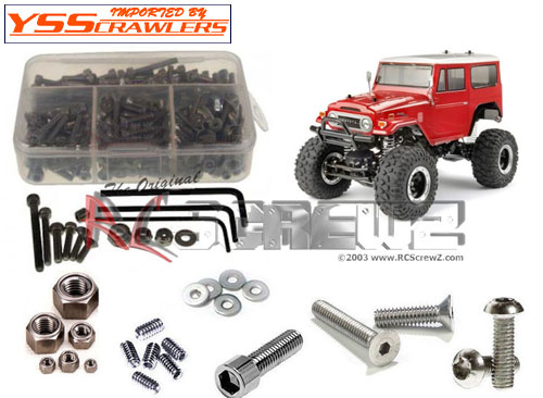 RC Screwz Stainless Steel hex screw kit for Tamiya Land Cruiser CR-01