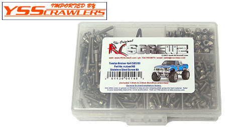 Tamiya Bruiser Stainless Steel Screw