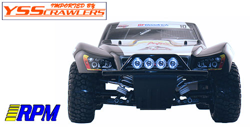 Black Front Bumper / Skid Plate for the Traxxas Slash 4x4