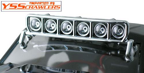 RPM ルーフマウント 6連ライトバー セット [クローム]