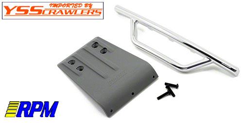RPM スラッシュ 2WD フロントバンパー & スキッドプレート [クローム]