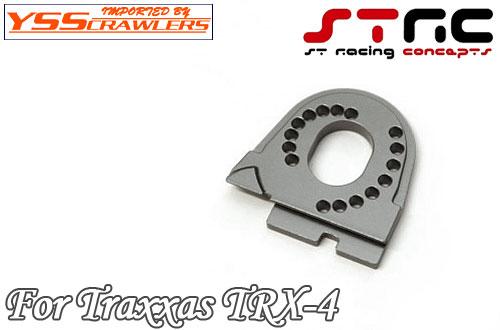 STRC CNCマシーンド アルミ モーターマウント for Traxxas TRX-4[ガンメタ]