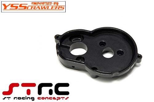STRC アルミ モーター マウント for Axial SCX10-II系 [ブラック]