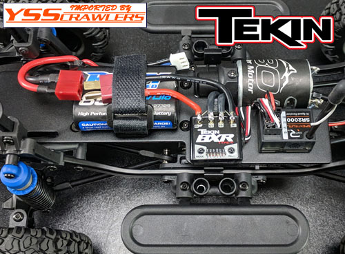 TEKIN BXR Type-C Brushed ESC!
