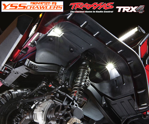 Traxxas LED rock light kit!