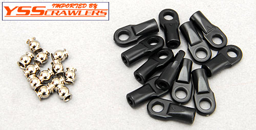 Traxxas 4mm Rod End Set 12pcs
