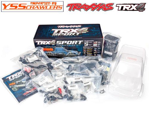 Traxxas TRX-4 スポーツ![組立][予約]
