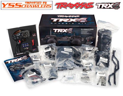 Traxxas TRX-4  シャーシキット![組立][予約]