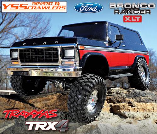 Traxxas TRX-4 ブロンコ レンジャー XLT RTR![グラデ][予約]